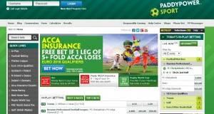 Paddy Power bonus free bet