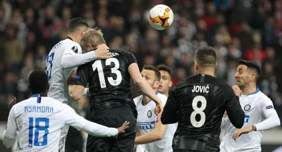 ιντερ αιντραχτ φρανκφουρτης γιουροπα λιγκ europa league online στοιχημα novibet νοβιμπετ