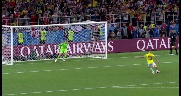 κολομβια αγγλια πεναλτι παγκοσμιο κυπελλο 2018