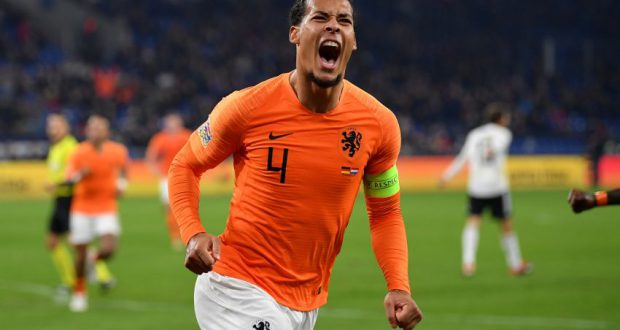 ολλανδια βερτζιλ φαν νταικ nations league ημιτελικος uefa