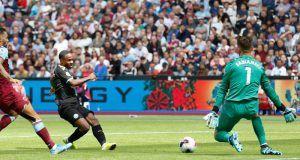 μαντσεστερ σιτι ραχιμ στερλινγκ γκολ πρεμιερ λιγκ στοιχημα goalbet γκολμπετ premier league