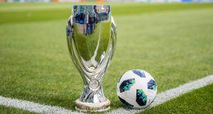 UEFA Super Cup 2019 trophy stoixima Novibet