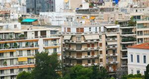 Πολυκατοικίες Αθήνα Ελλάδα ασφάλεια σπίτι