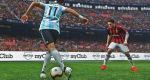 Pro Evolution Soccer PES 2020 match engine αγώνας Αργεντινή Μίλαν