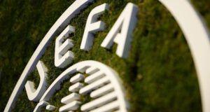 UEFA logo headquarters