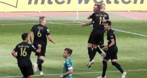 Άρης παναθηναϊκός Super League 1 γκολ Μαντσίνι