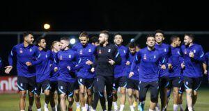 εθνική Ελλάδος προπόνηση φιλικό Διούδης Παυλίδης διεθνείς ποδοσφαιριστές