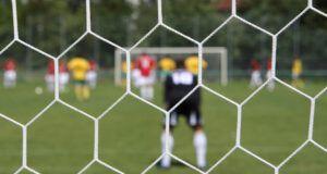 ποδόσφαιρο δίχτυα γκολ τερματοφύλακας