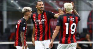 Μίλαν Ιμπραΐμοβιτς Τεό Ερνάντες γκολ Serie A Ιταλία πρωταθλητισμός