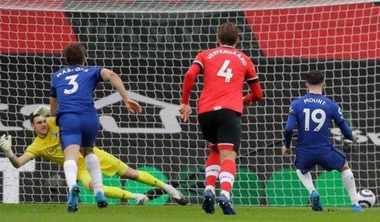 Σαουθάμπτον Τσέλσι Μέισον Μάουντ εύστοχο πέναλτι Premier League