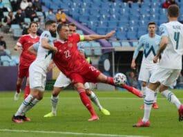 Ρωσία Σλοβενία 2 γκολ Αρτέμ Τζούμπα