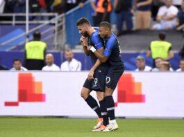 εθνική Γαλλίας Εμπαπέ Ζιρού γκολ