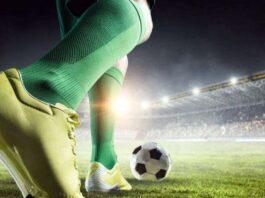 ποδόσφαιρο μπάλα γήπεδο