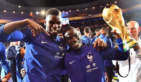 Γαλλία Παγκόσμια Πρωταθλήτρια 2018 Ενγκολό Καντέ Πολ Πογκμπά